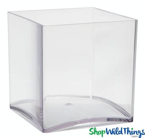 5 Inch Square Vase by Clear Acrylic Cube Vase Square 5 Inches Great For