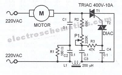 Vand Motor 220v by Ro Electronica Schema Regulator De Turatie Pentru Motoare