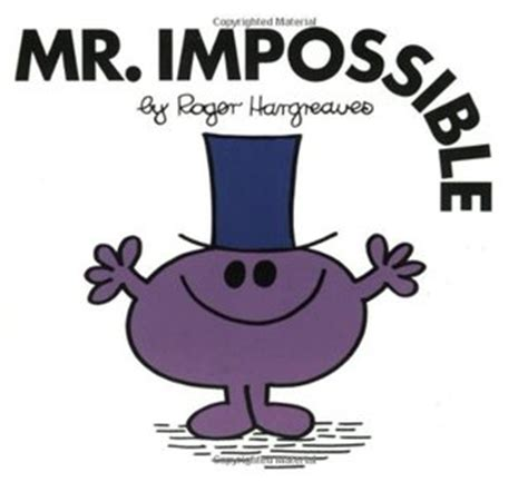 Book Review Mr By Dowler mr impossible by roger hargreaves