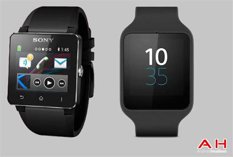 Smartwatch Sony Smartwatch Comparisons Sony Smartwatch 2 Vs Sony Smartwatch 3 Androidheadlines