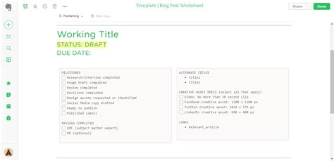 21 evernote templates workflows to skyrocket