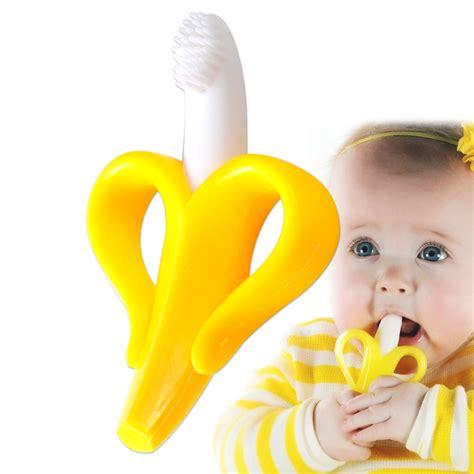 infant baby toddler banana teething soft