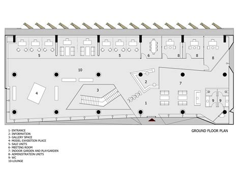 floor plan for office building gallery of office building in istanbul tago architects