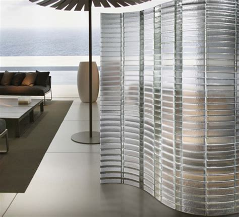 decorative glass partitions by poesia