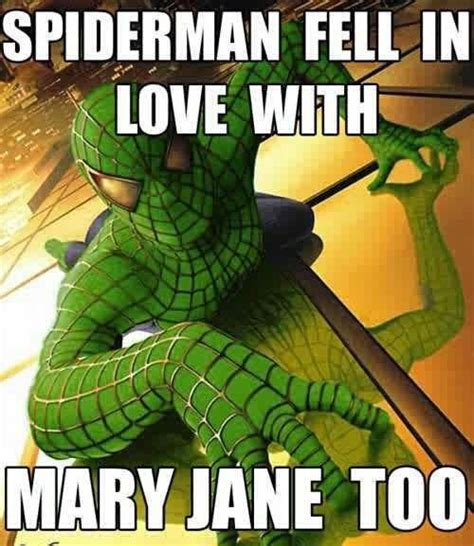 Mary Jane Memes - spiderman fell in love with mary jane favorite cartoon