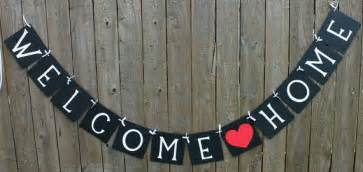 welcome home decor welcome home banner welcome baby welcome home
