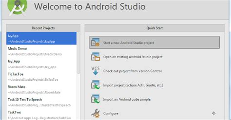 getting started with android studio getting started with android studio for android app development android