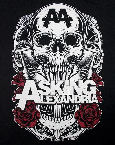 Asking Alexandria Ukuran M media center asking alexandria