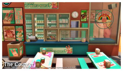 freezer bunny sims 4 my sims 4 blog the freezer bunny ice cream stand