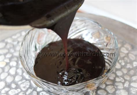 chocolate ganache recipe cook with archi