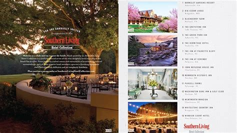 southern living advertising southern living launches hotel collection adweek