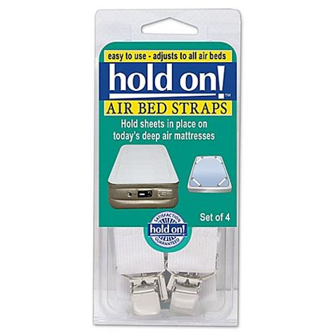 Bednet Bed Bath And Beyond by Hold On Air Bed Straps Set Of 4 Bed Bath Beyond