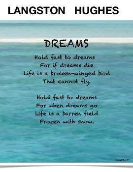 langston hughes biography for students langston hughes poem dreams seems like a simple poem yet