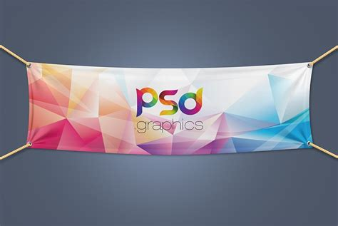 event design mockup textile fabric banner mockup free psd download download psd