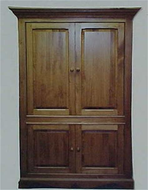 pocket door armoire for tv vcr and stereo