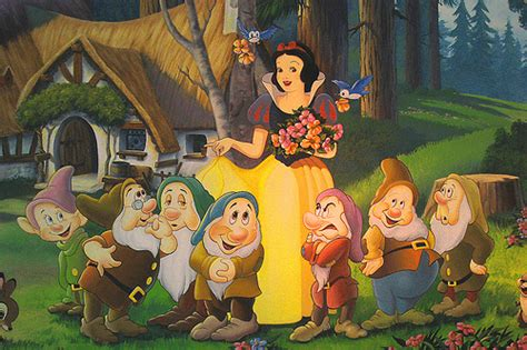 snow white and the seven dwarfs the bare necessities snow white and the seven dwarfs