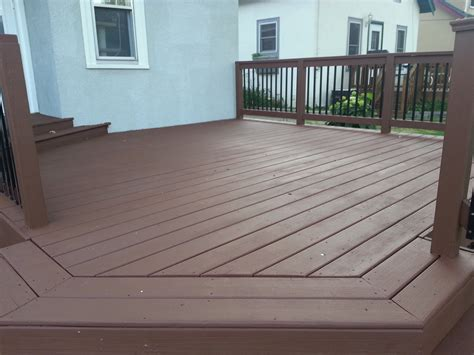 stain   deck small change   deck