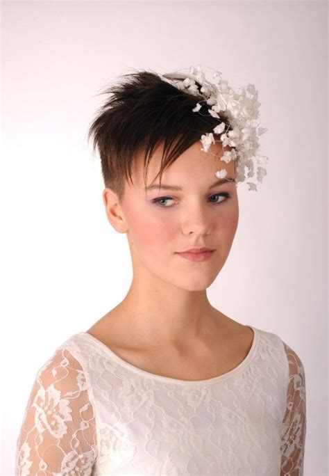 Wedding Fascinators For Short Hair   Wedding Fascinators