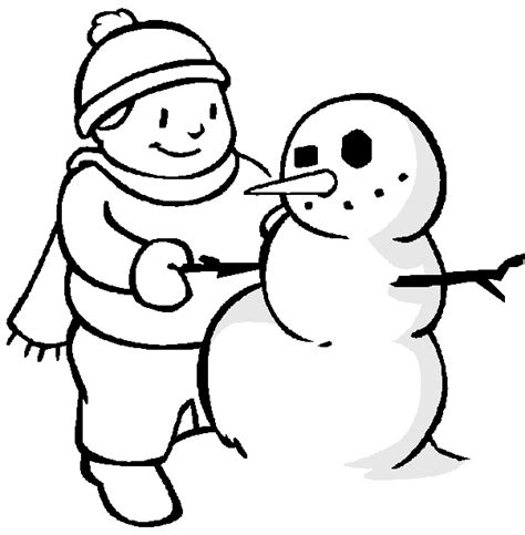 free coloring pages of animals winter