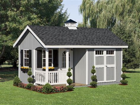 Dutch Colonial House Style premium sheds shed corral