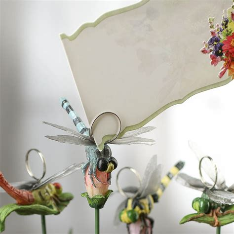 artificial dragonfly pick picks and stems floral