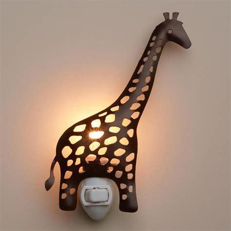 Giraffe Light handcrafted metal giraffe light world market