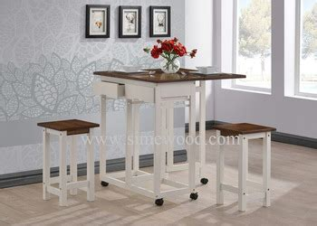 solid wood breakfast table solidwood breakfast table set coffee table with stools
