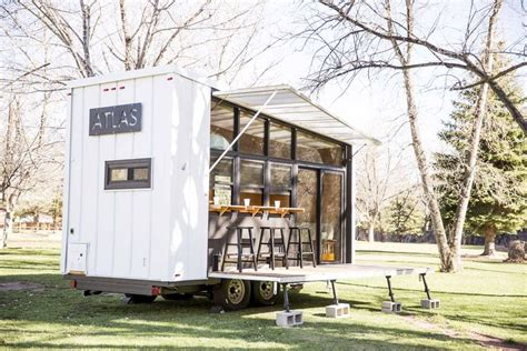 house on wheels atlas a 196 square foot tiny house on wheels by f9