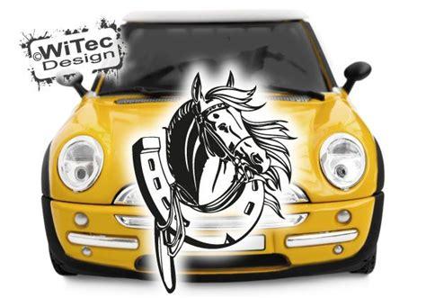 Aufkleber F Rs Auto Pferd by Aa204 Auto Aufkleber Pferd Hufeisen