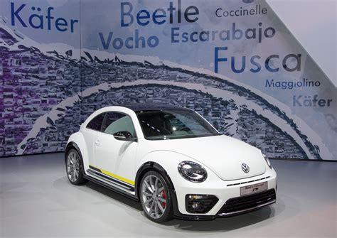 Vw Beetle New York Auto Show by Vw Beetle Concept R Line Auf Der New Yorker Auto Show