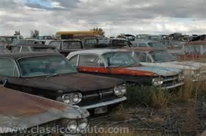 classic car junk yards