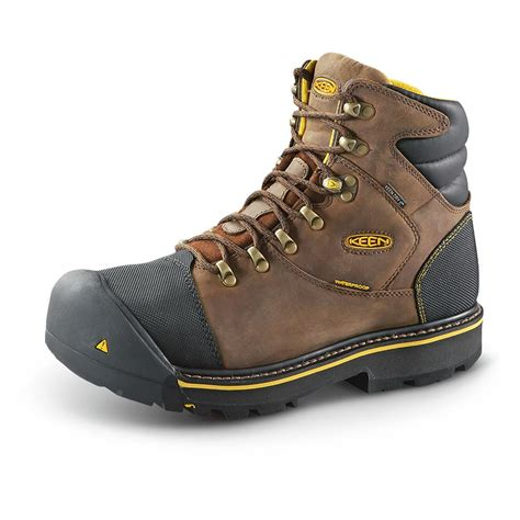 keen work boots for keen utility s milwaukee 6 quot steel toe work boots