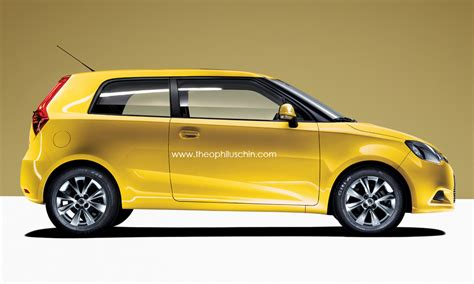3 Door Car by New Mg3 3 Door Hatchback Autoevolution