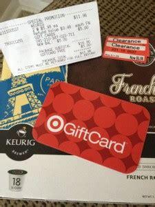 Target Keurig Gift Card - target keurig k cup clearance deal who said nothing in life is free