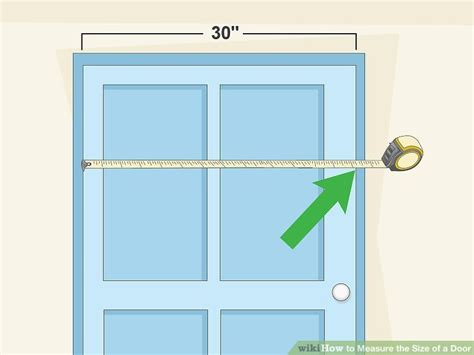 how to measure the size of a door 8 steps with pictures