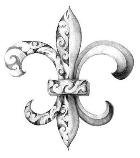 fleur de lis 3d design tattooimages biz 117 best images about fleur de lis on wine