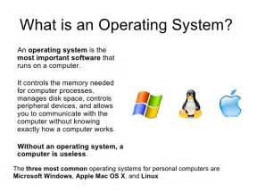 Desktop Computer Operating Systems I Learn Computer Operating Systems