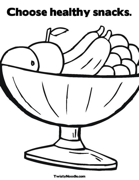healthy color pictures healthy food coloring pages for coloring home