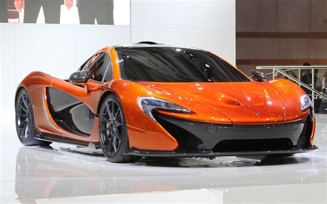 mclaren concept mclaren p1 supercar first look 2012 paris motor show