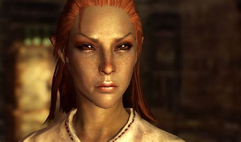 skyrim human hair styles skyrim bosmer woodelf games pinterest