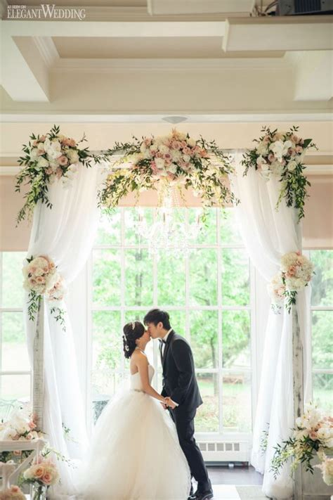 wedding arch material how to decorate a wedding arch with fabric wedding