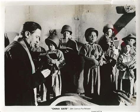 film china gate 1957 marcel dalio warren hsieh china gate 8x10 1957