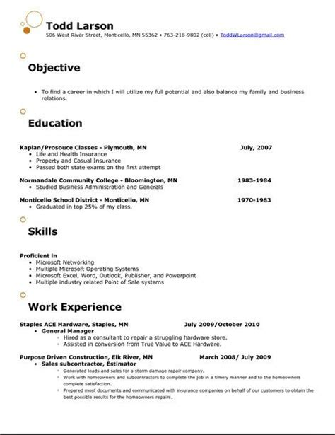 best 25 resume objective exles ideas on resume objective objective for