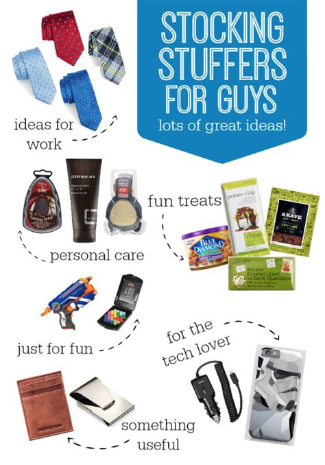 ideas for stuffers stuffers for guys one lovely