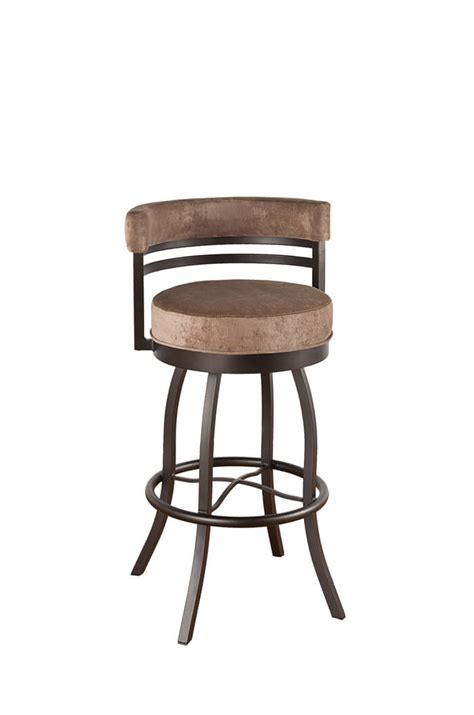 counter height swivel stools with low backs callee americana swivel barstool 24 26 30 34 quot