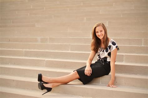 high heels for school alaina dooley photography senior session blowout natalie