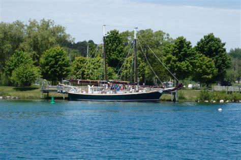 northport bay boat yard northport mi to suttons bay mi sv carpe diem