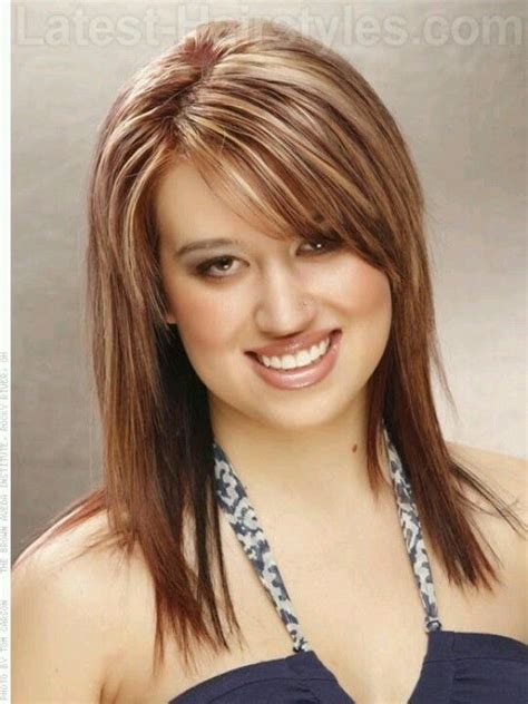 long shag haircuts for round faces pinterest
