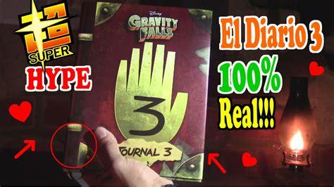 libro ele actual libro del gravity falls la busqueda del diario 3 el libro es real la hype youtube
