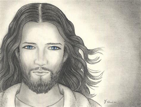 imagenes a lapiz del rostro de jesus rostro por villarreal dibujando